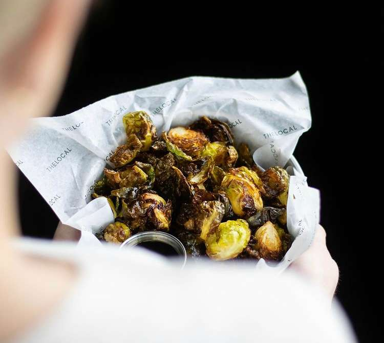 Crispy Brussel Sprouts