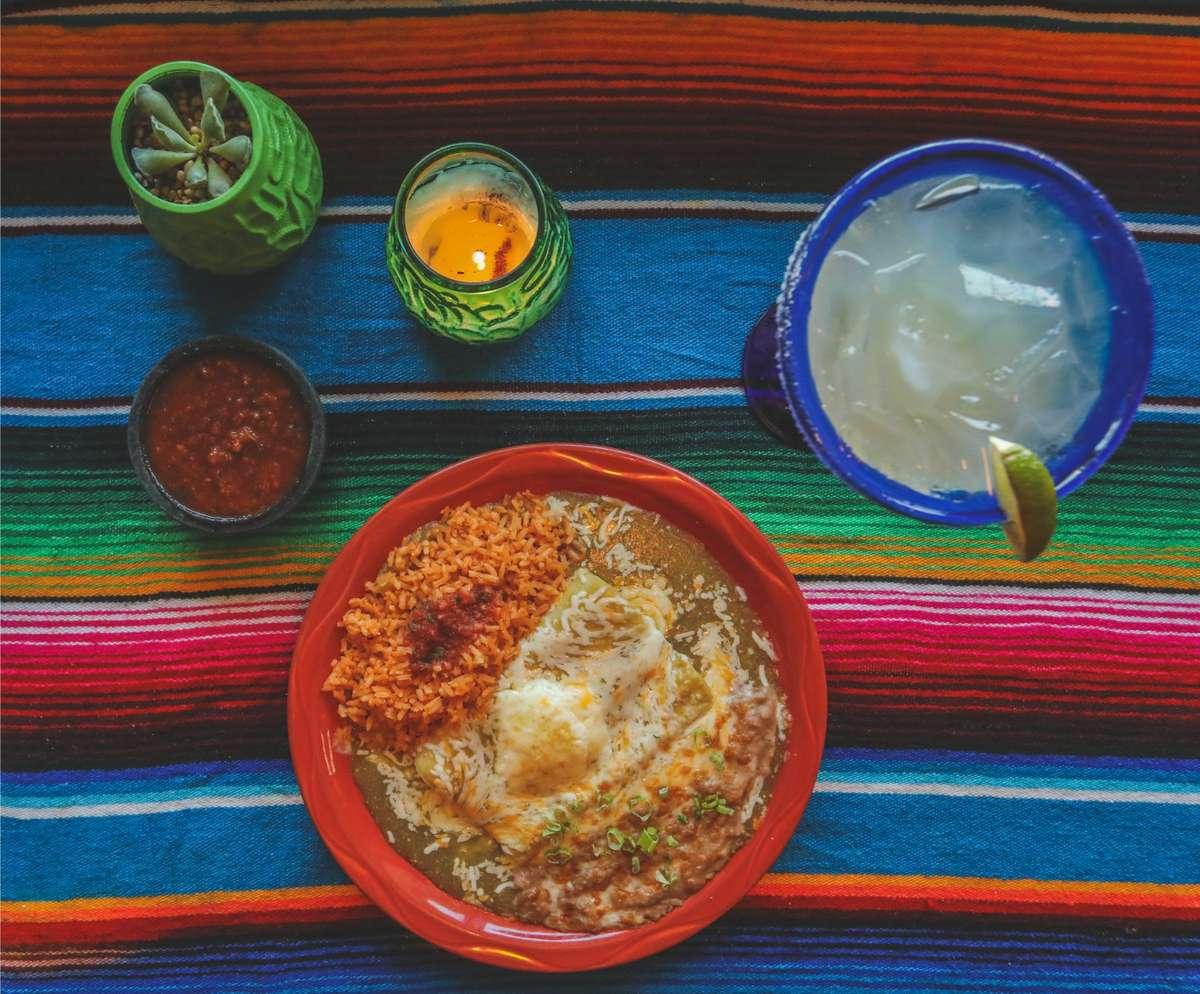 margarita and dinner