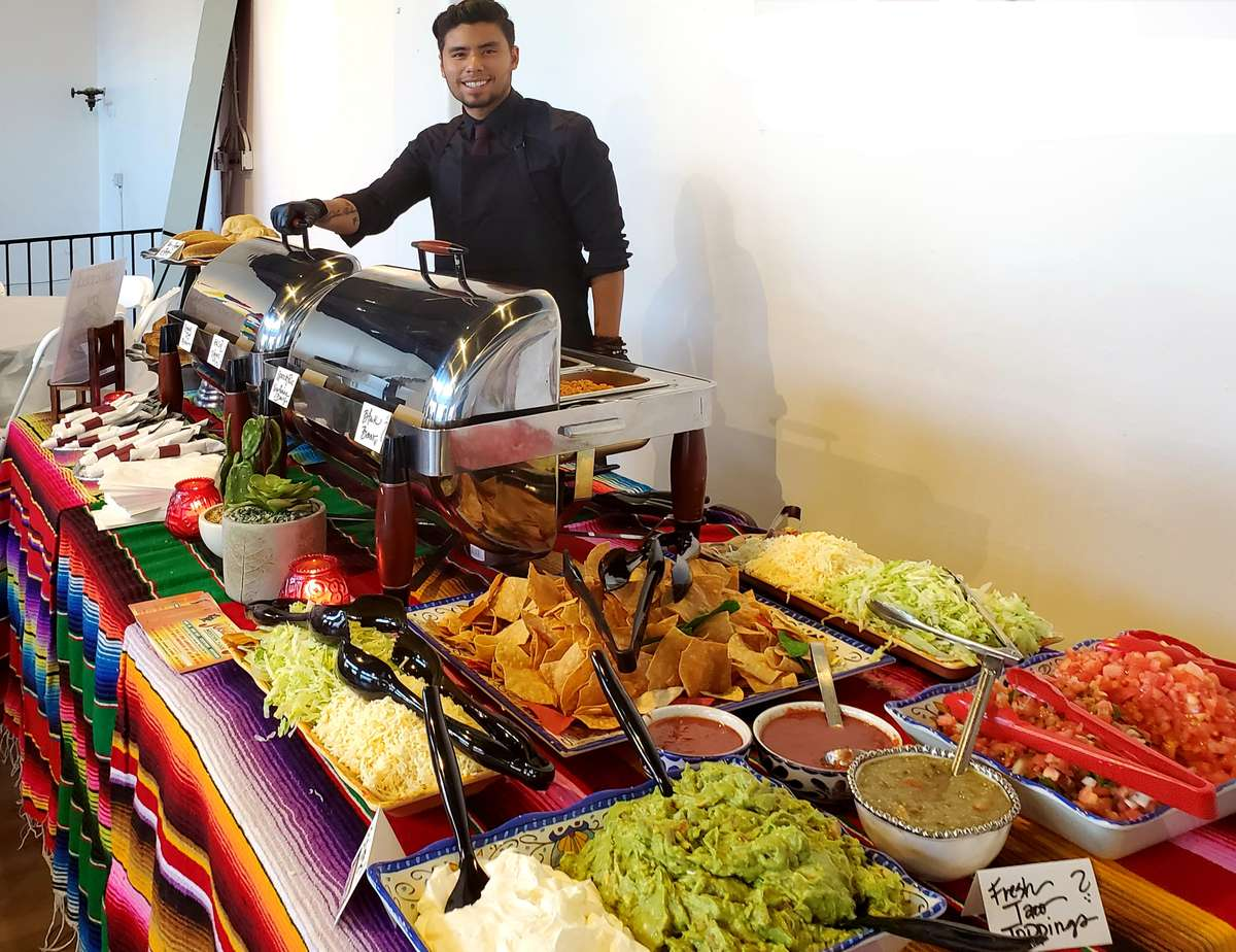Taco & Tostada Bar