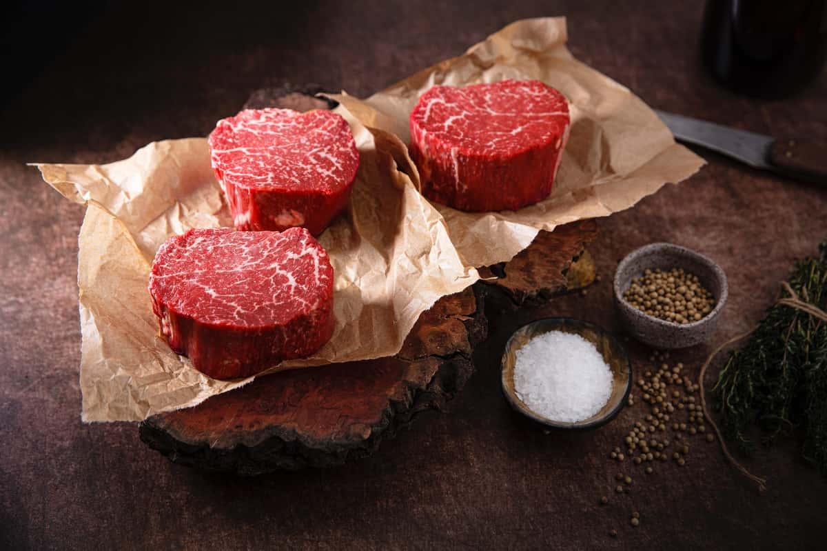 8 oz Center Cut Bacon Wrapped Filet Mignon