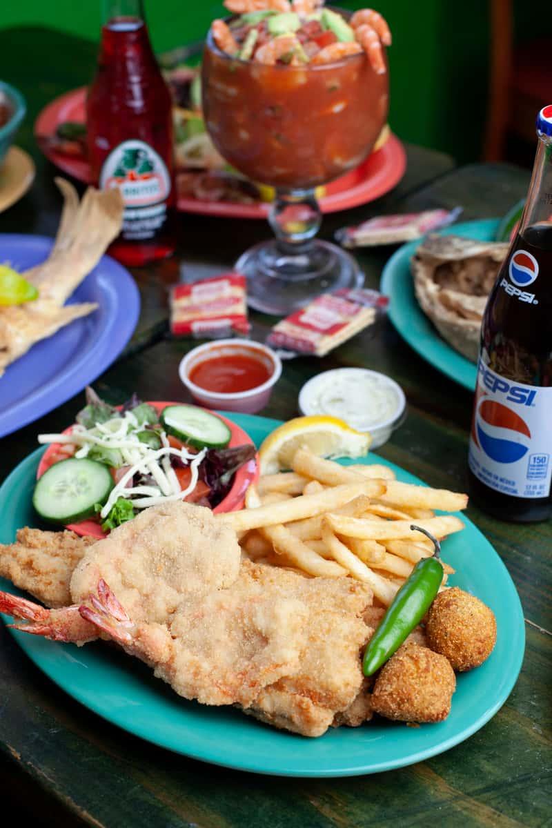 Lunch Fish N Shrimp