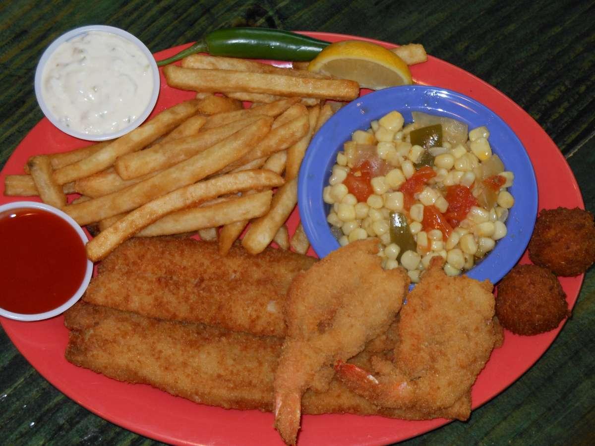 Fish N Shrimp Plate