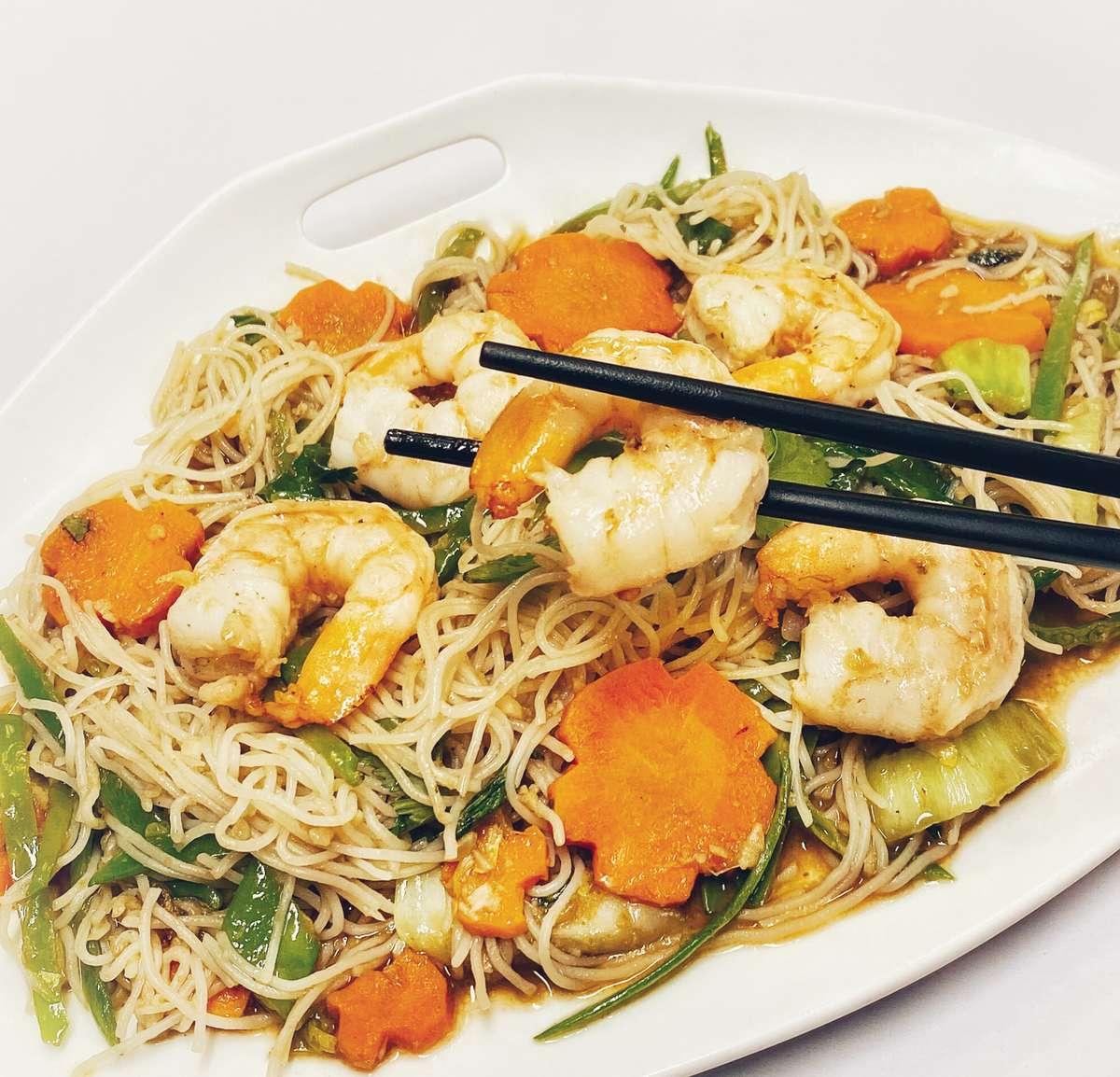 Philippine Noodle Stir Fry