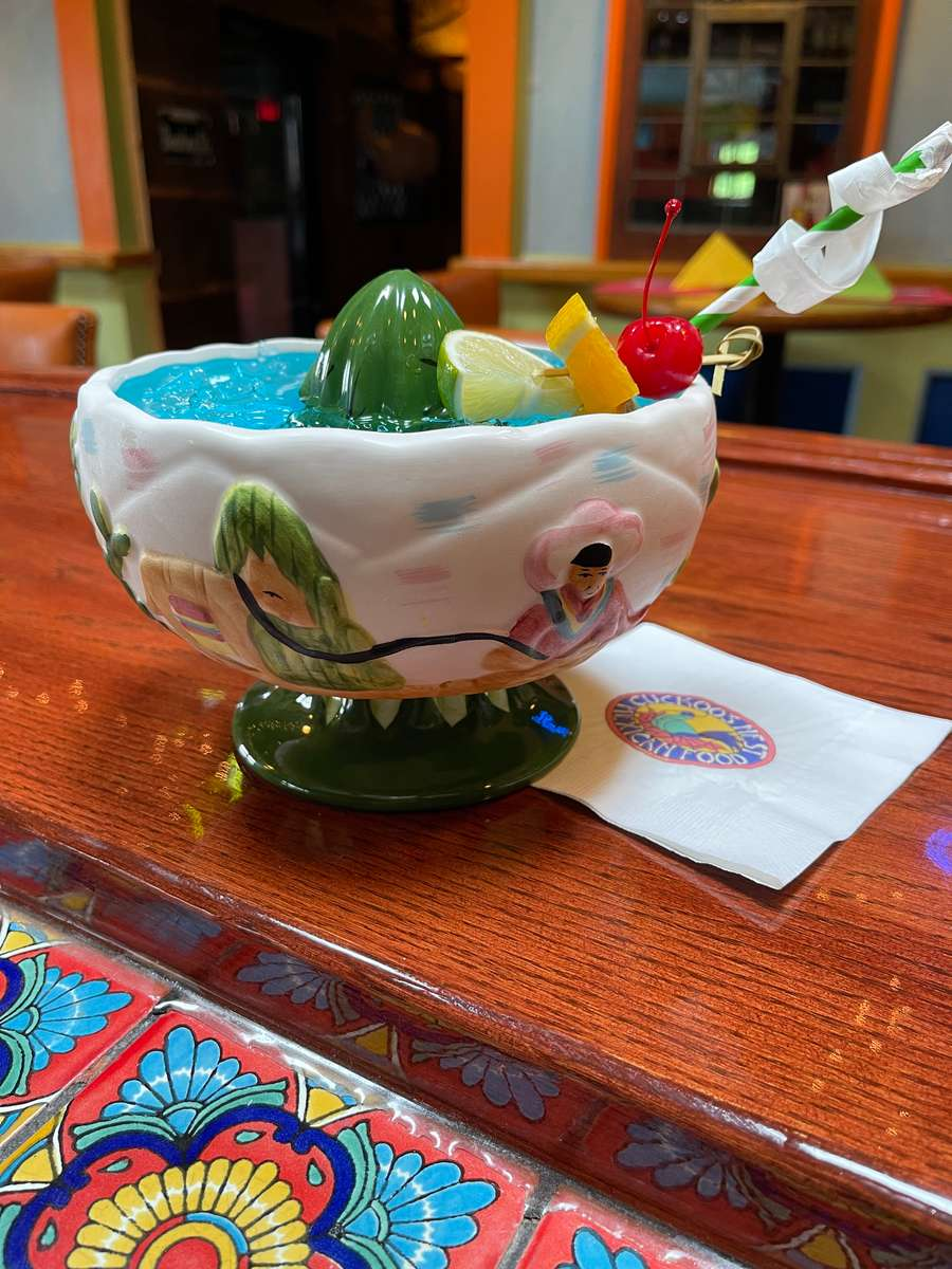 Scorpion Bowl Margarita