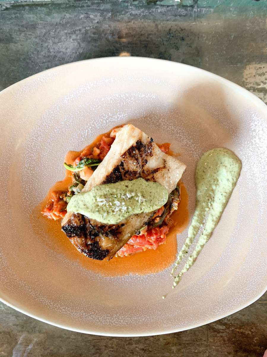 Wood Grilled Cobia