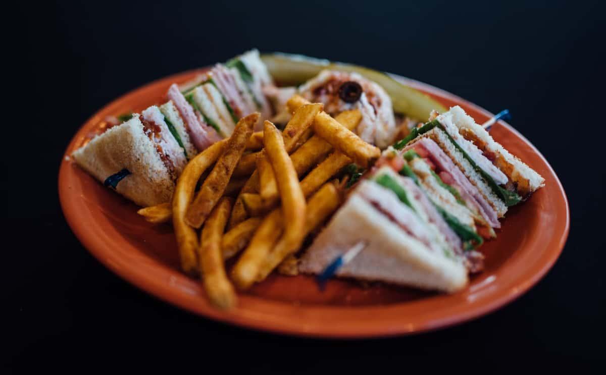 Club Sandwich– A Deluxe Double Decker!