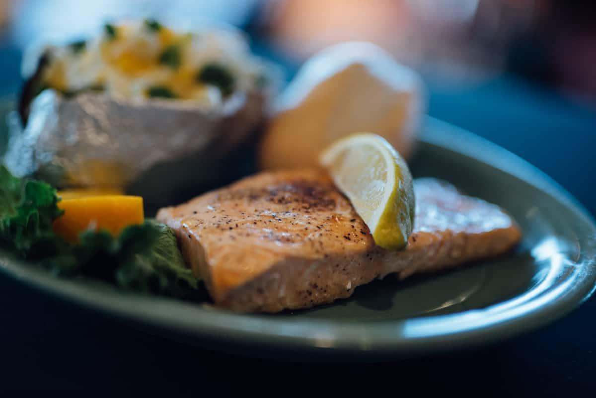 8 oz. Salmon Fillet