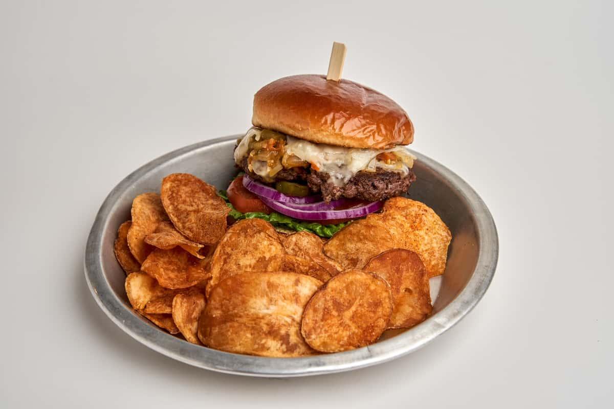 Hatch Chile Burger*