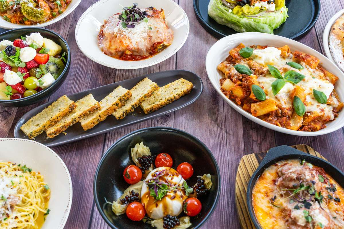 various dishes