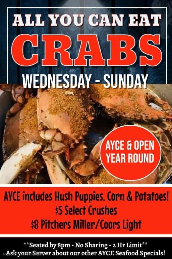 AYCE blue crab