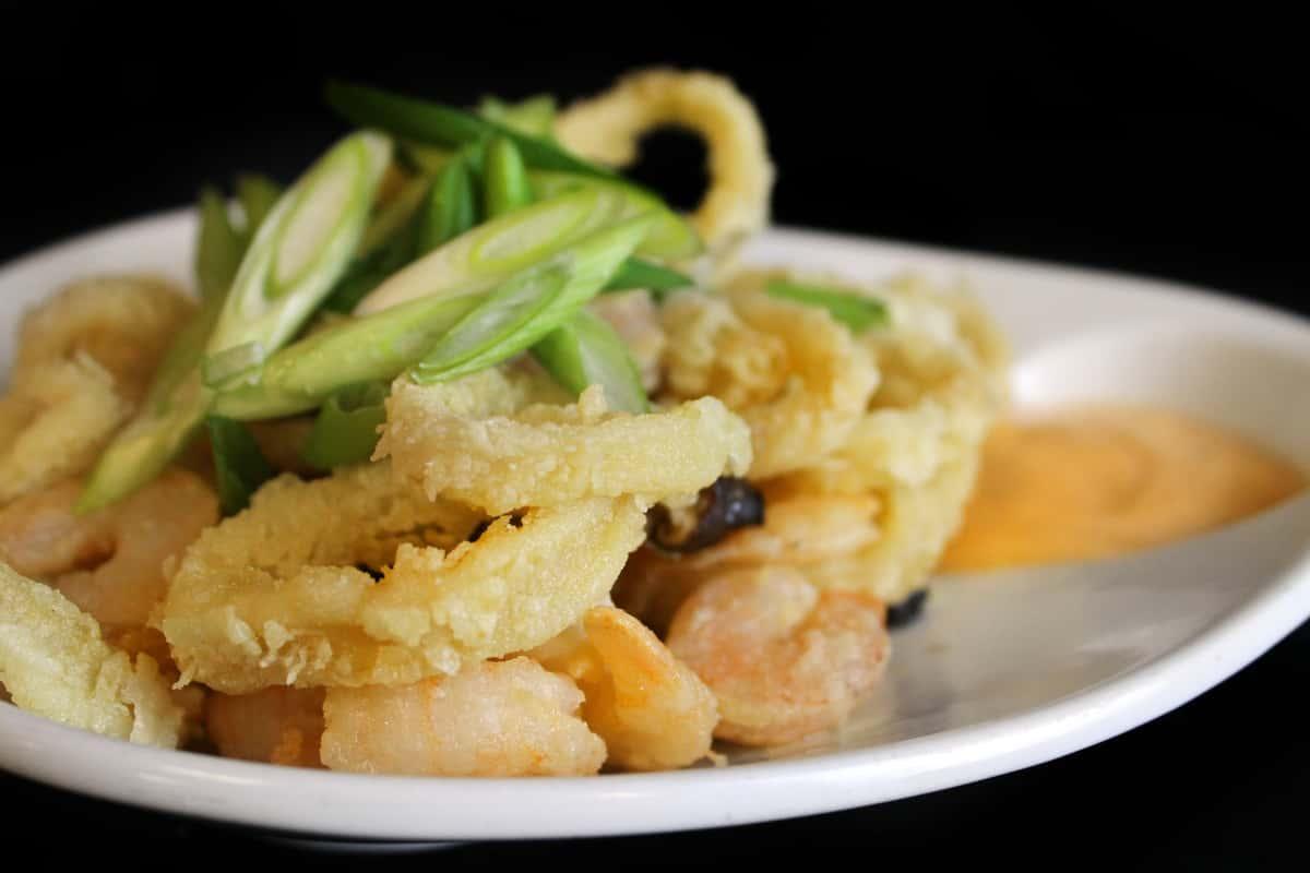 *Calamari and Shrimp