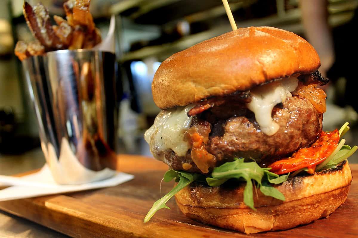 *Angus Beef Burger