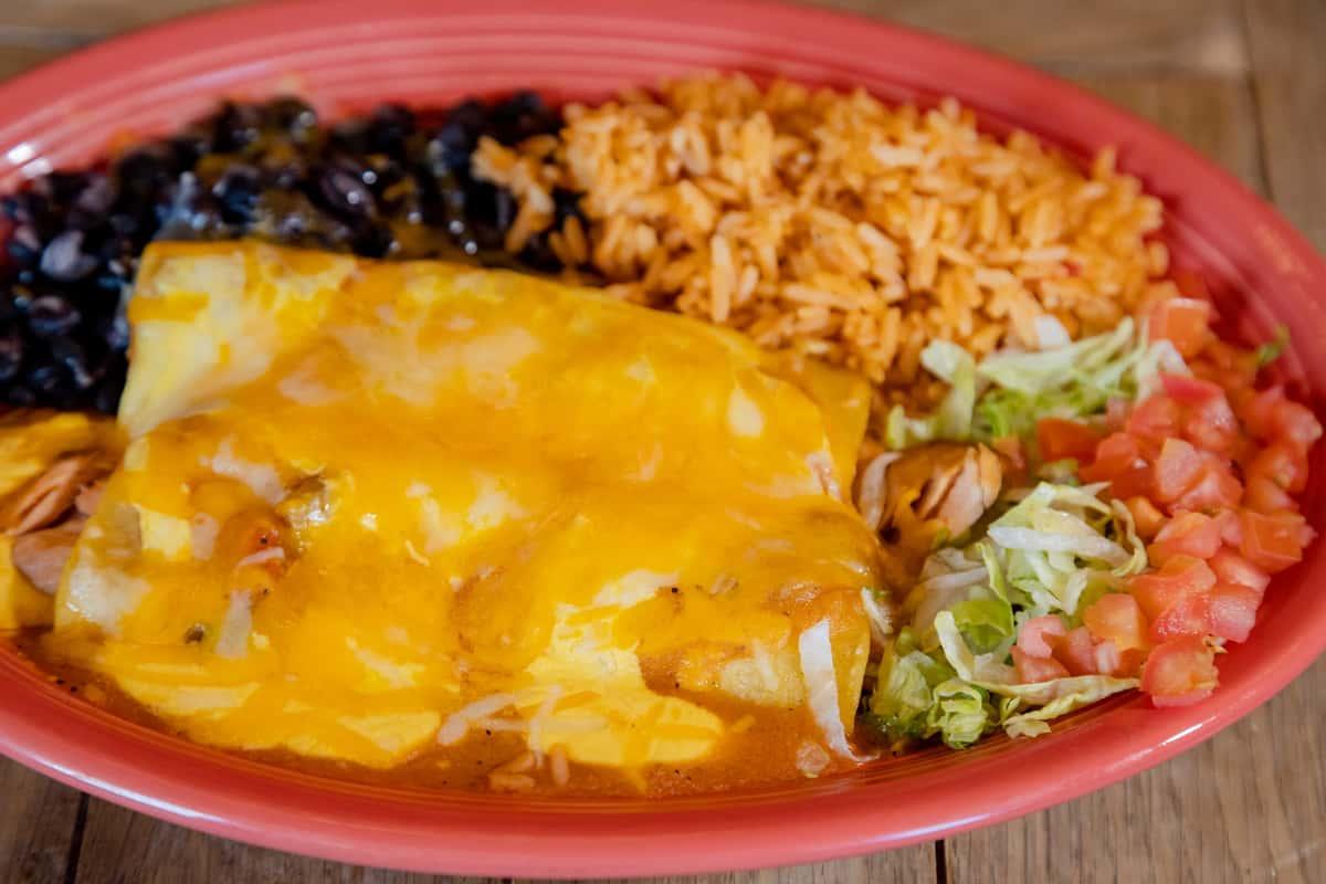Salmon & Cream Cheese Enchiladas