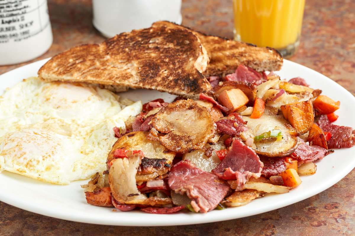 House Crafted Corned Beef Hash