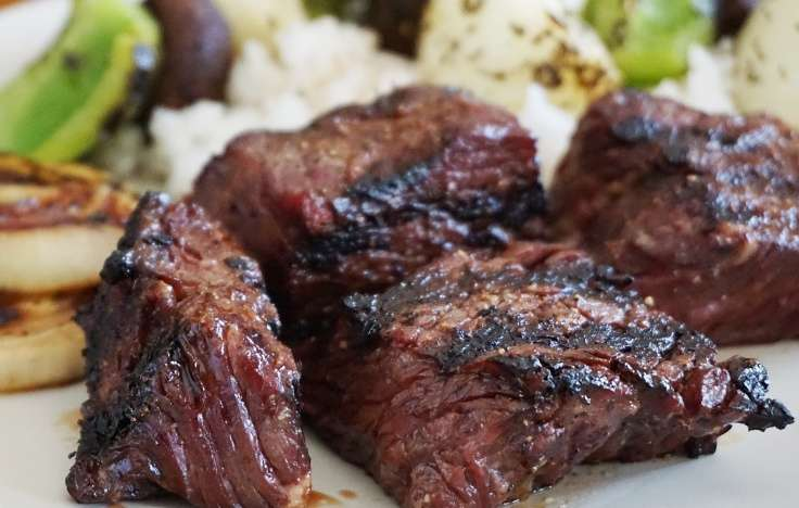 Marinated Steak Tips*