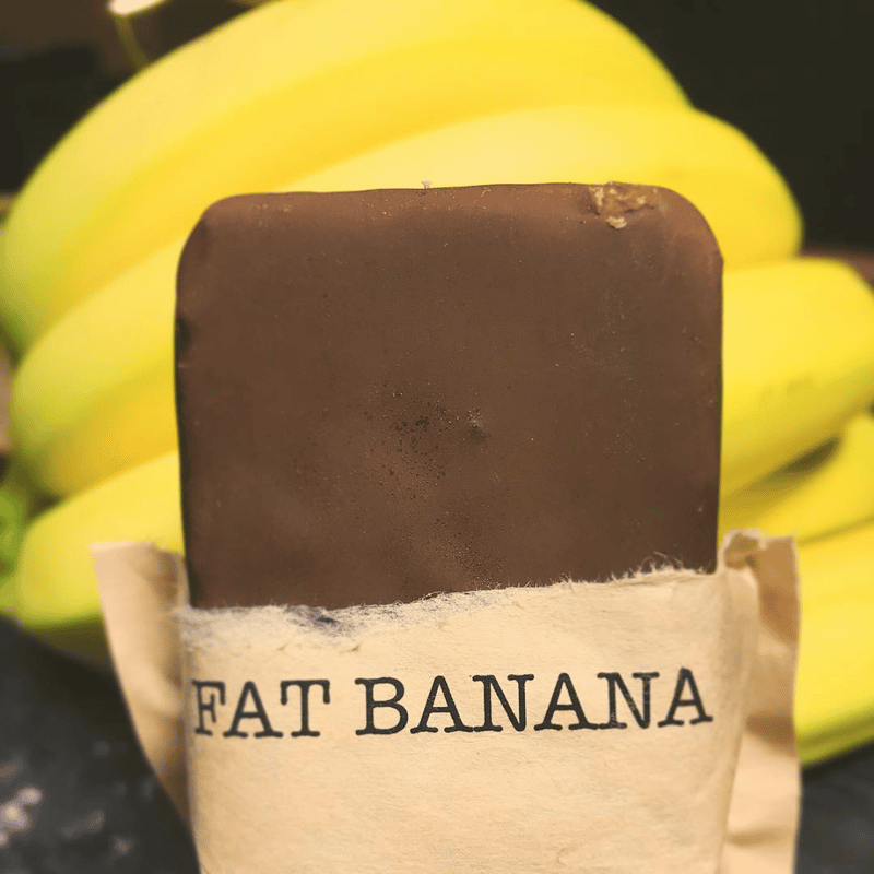 Fat Banana Ice Cream Bites