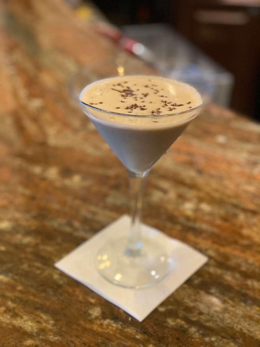 Espresso Peanut Butter Twist Martinis
