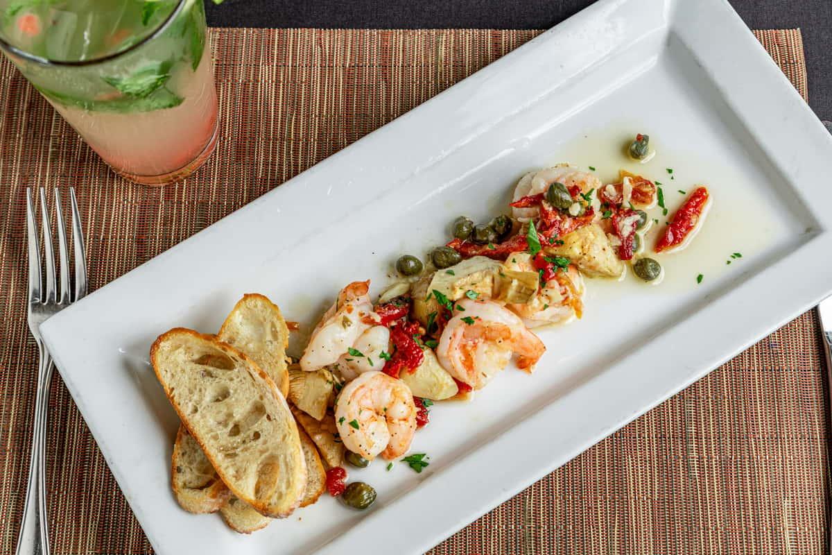 Shrimp Aglio-Olio