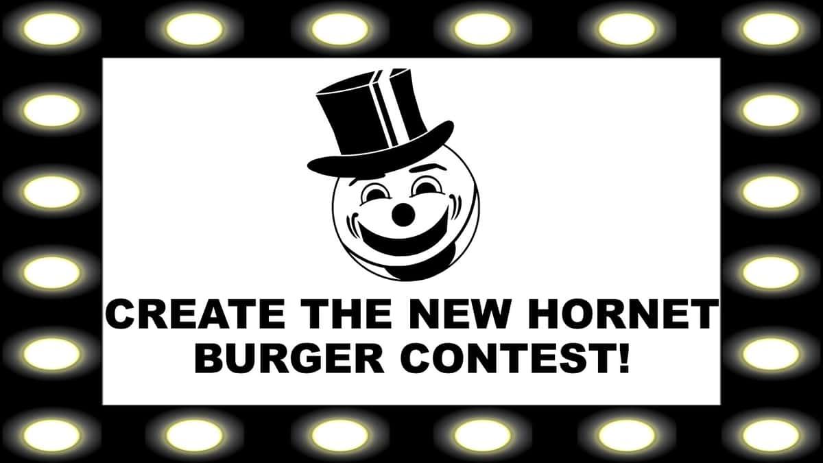build the hornet burger contest