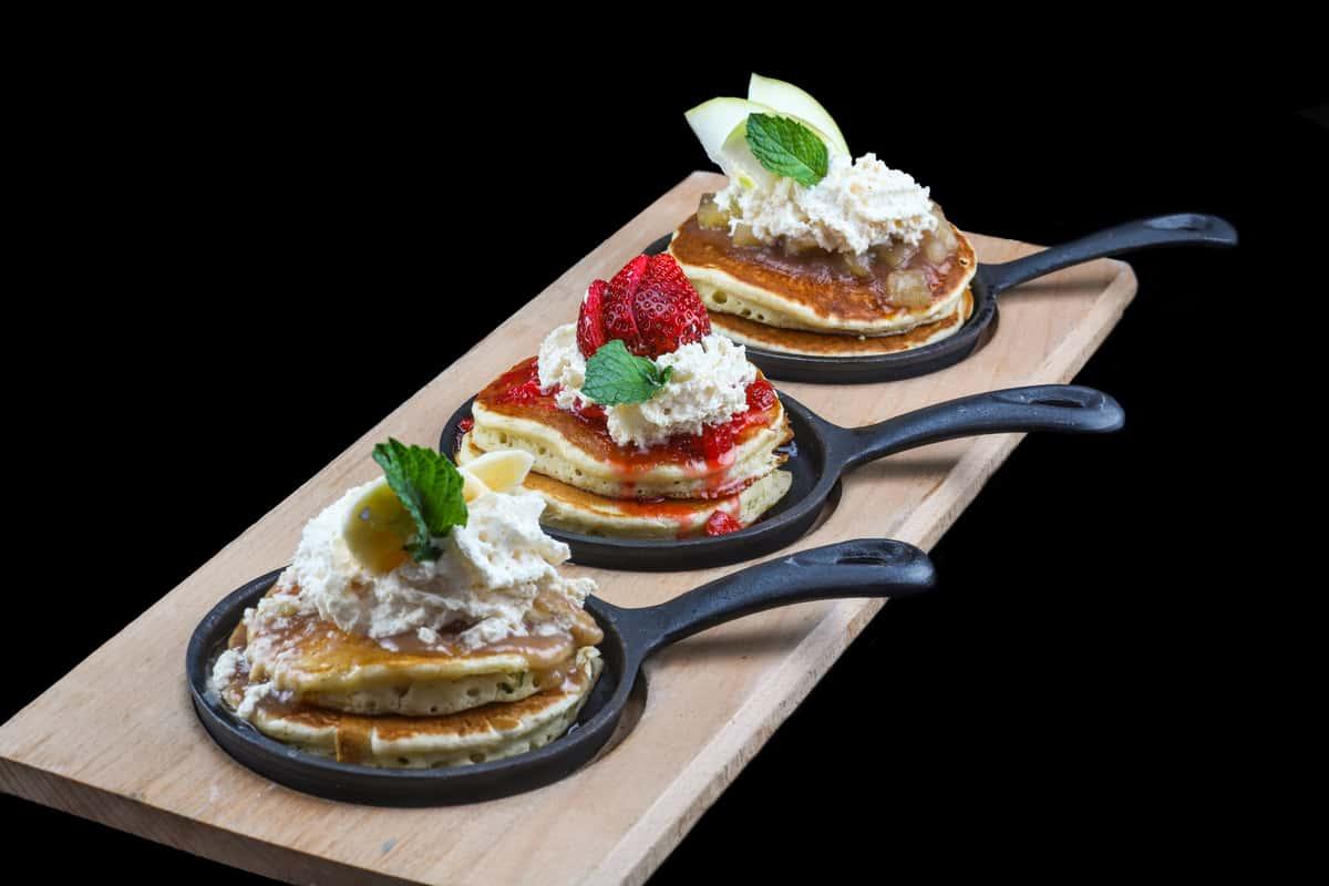 Mini Pancakes Flight