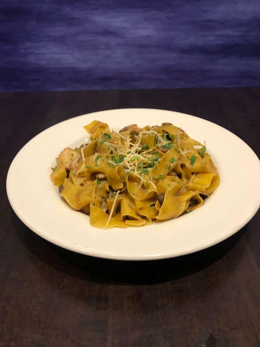 Wild Mushroom Pappardelle Pasta