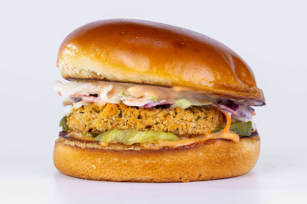 Sam's Vegan Crispy Chik'n Sandwich