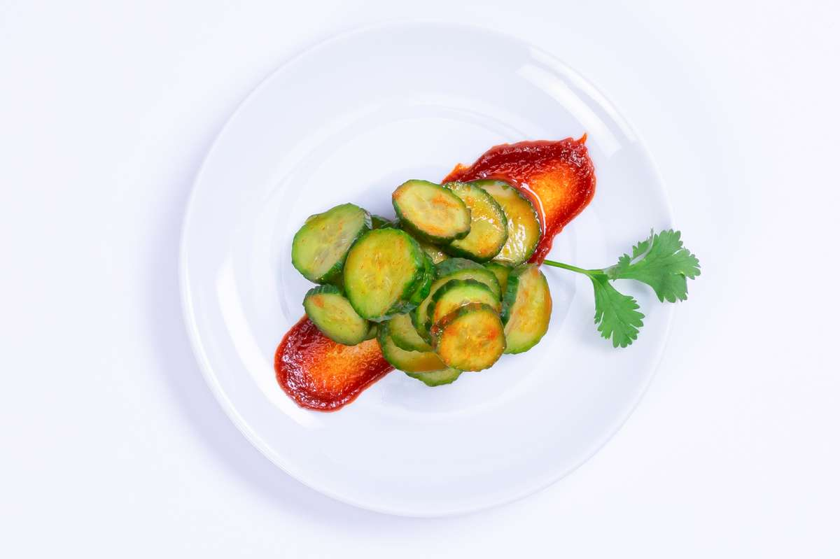 Kimchi Cucumber