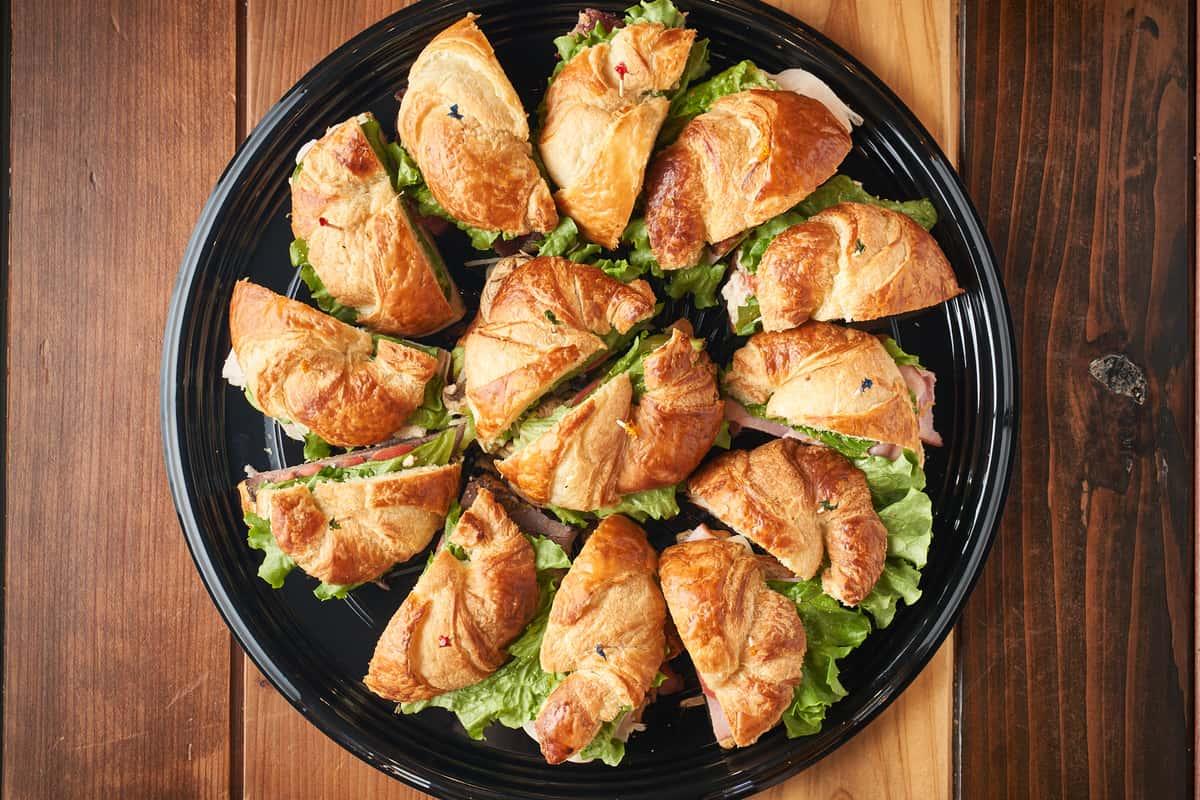 croissant tray