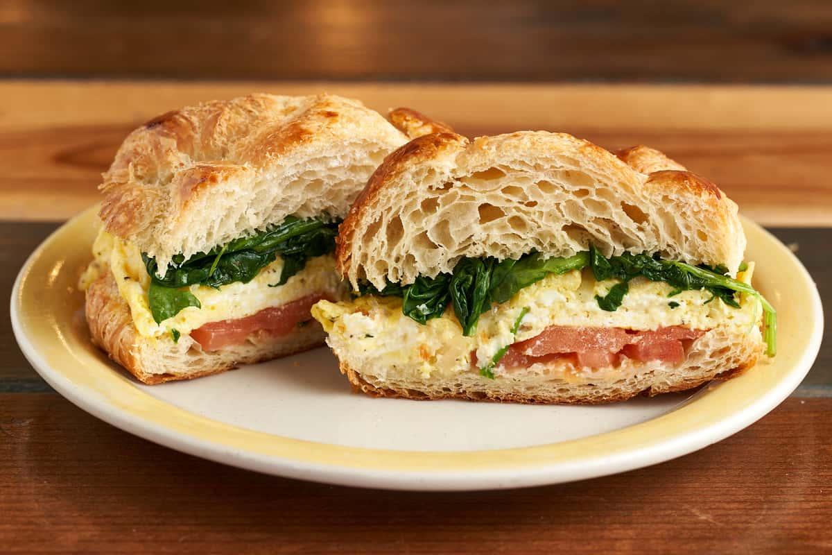 Tomato Florentine Sandwich