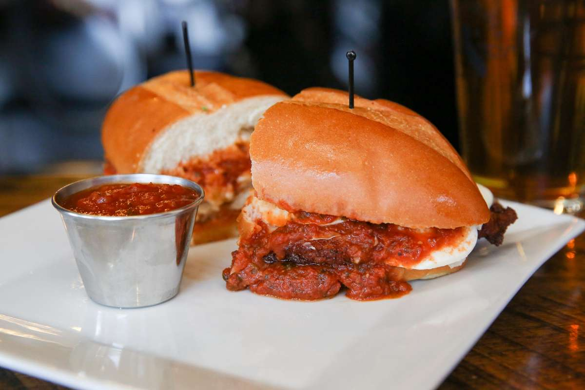 chicken parm sandwich