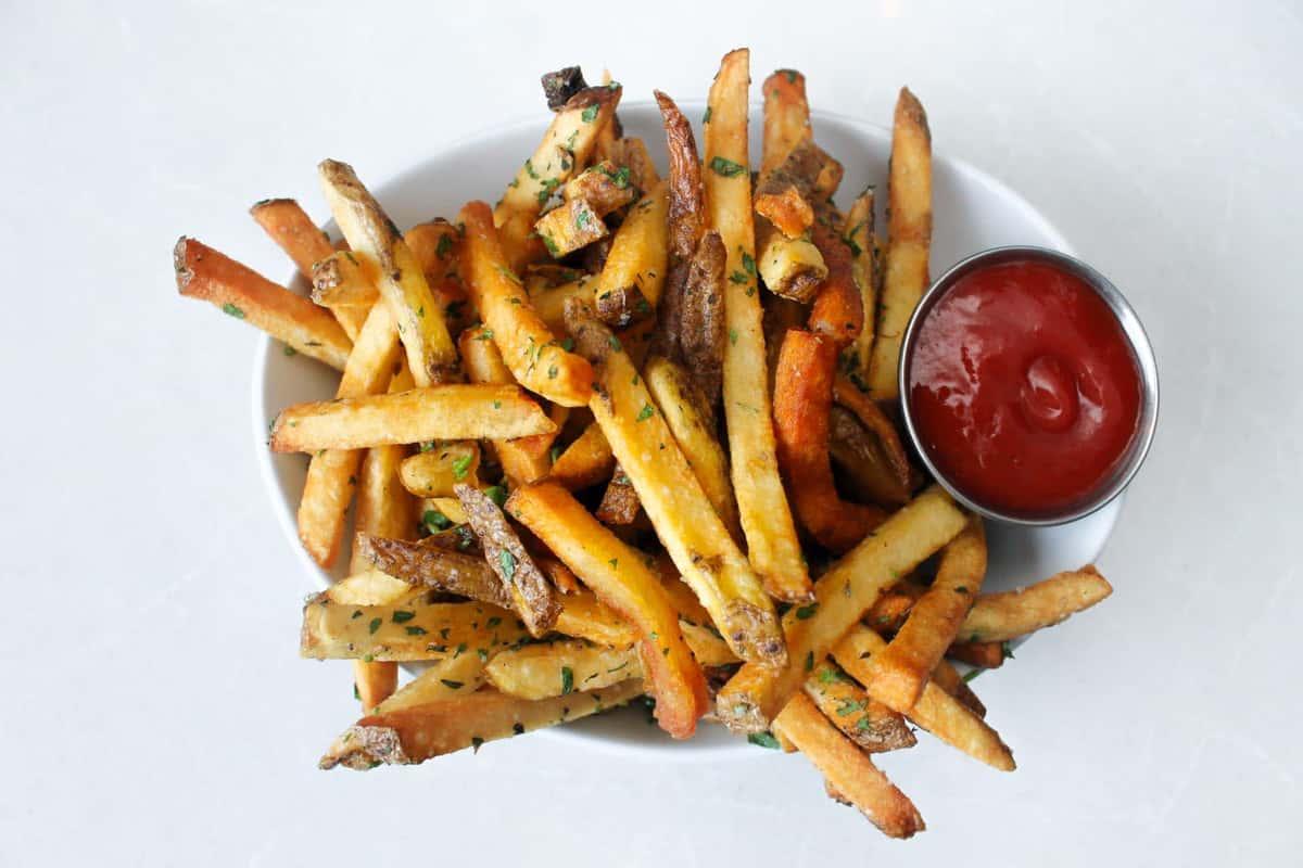 Hand Cut Herb Fries