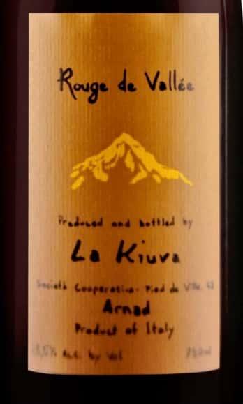 La Kiuva Rouge de Vallée, Aosta Valley, Italy