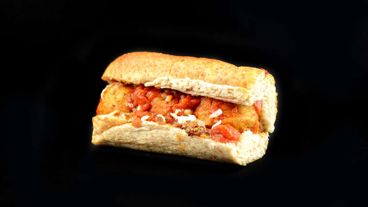 #9 Meatball Mozzarella