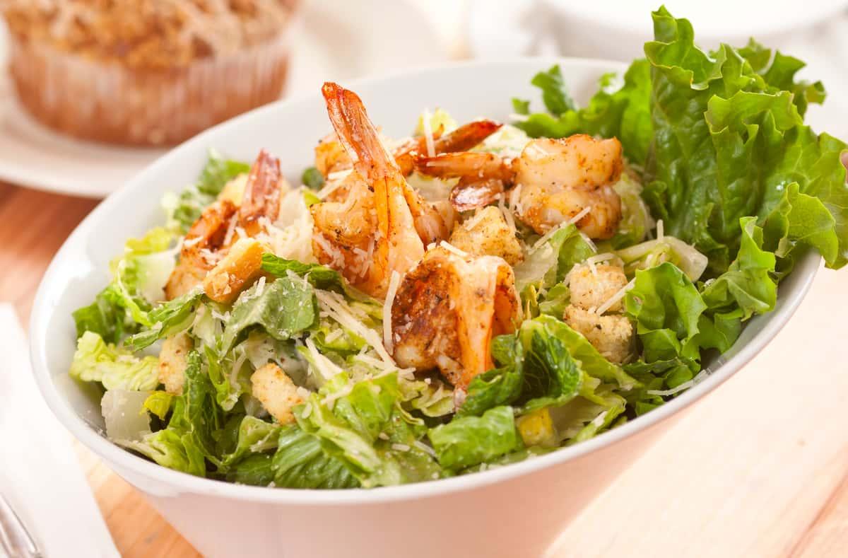 Nano Caesar Salad