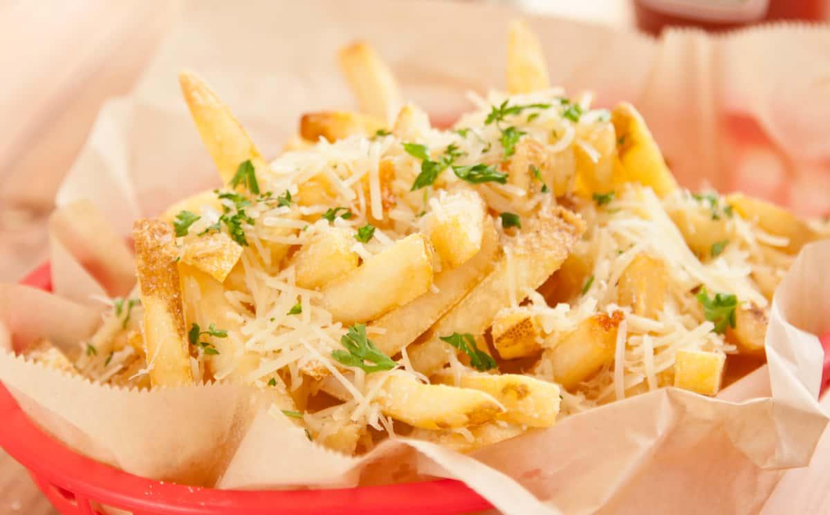 Truffle Parmesan Garlic Fries