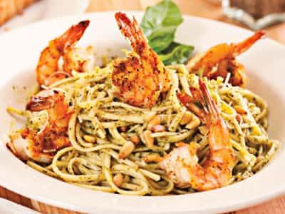 Linguini Pasta Pesto