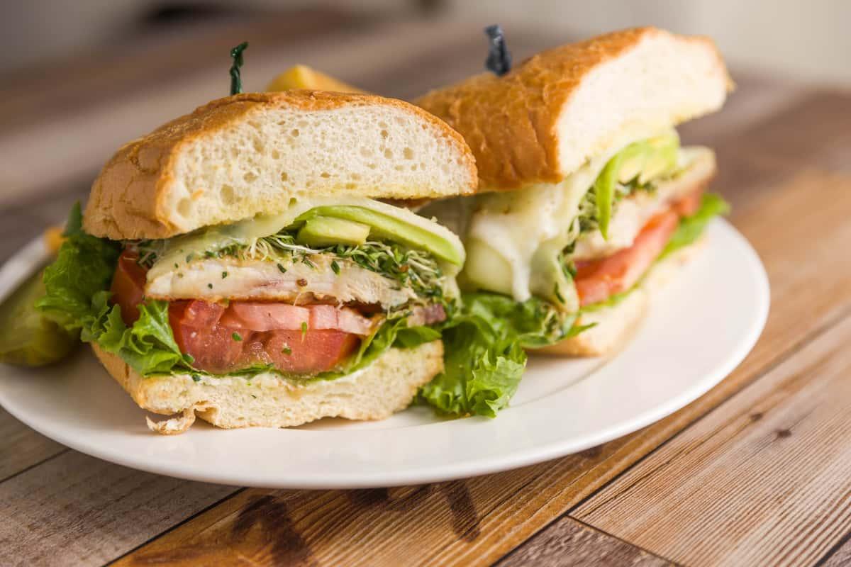 Santa Fe Chicken Sandwich
