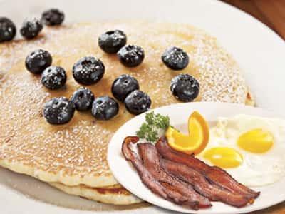 Blueberry Pancake Combo