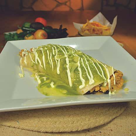 Burrito De Pollo Y Espinaca (Chicken & Spinach)