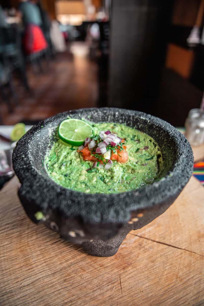 Fresh Tableside Guacamole