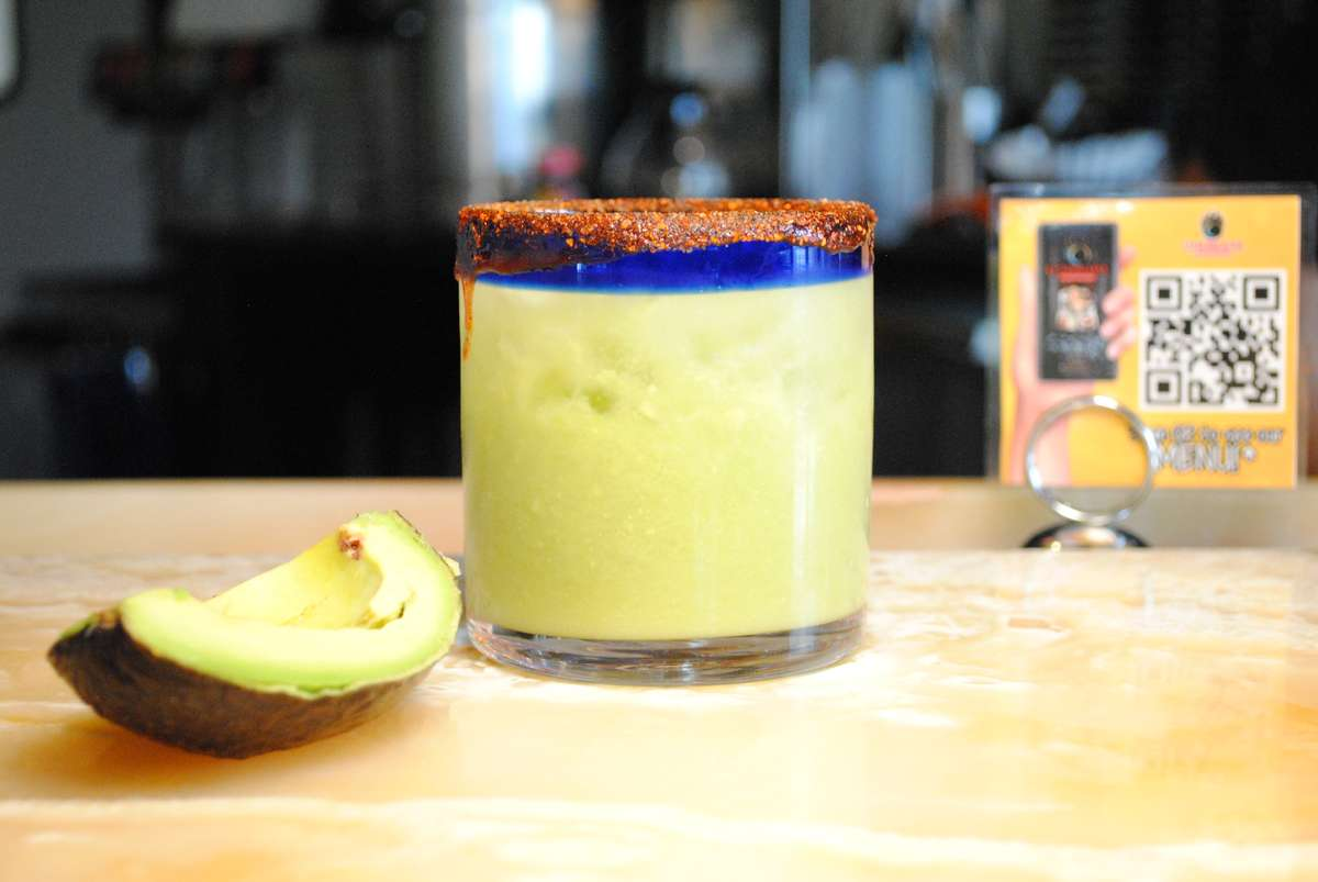 Avocado (Not Guacamole) Margarita