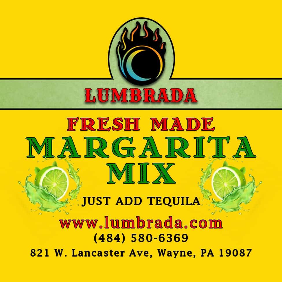 Lumbrada Margarita Mix (32oz)