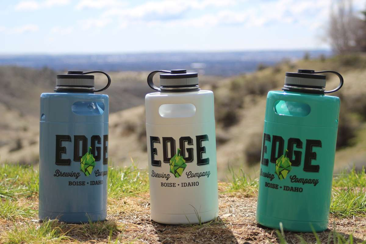 edge insulated water bottles