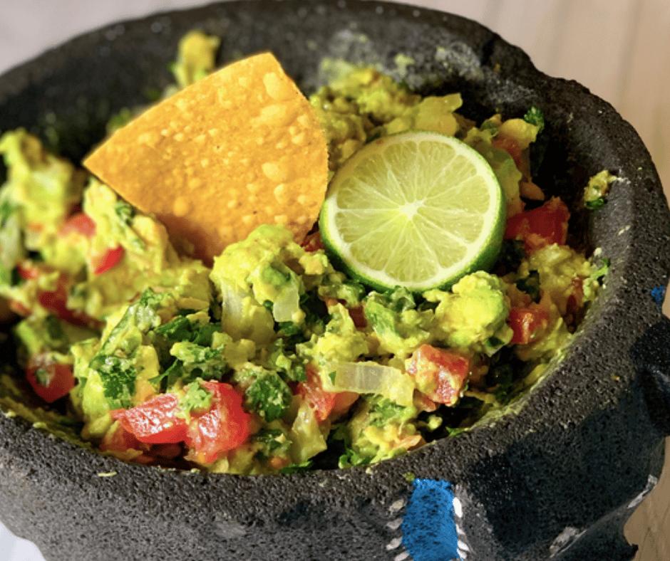 Homemade Table Side Guacamole