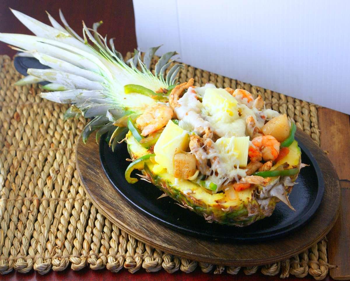 Pineapple Fajitas