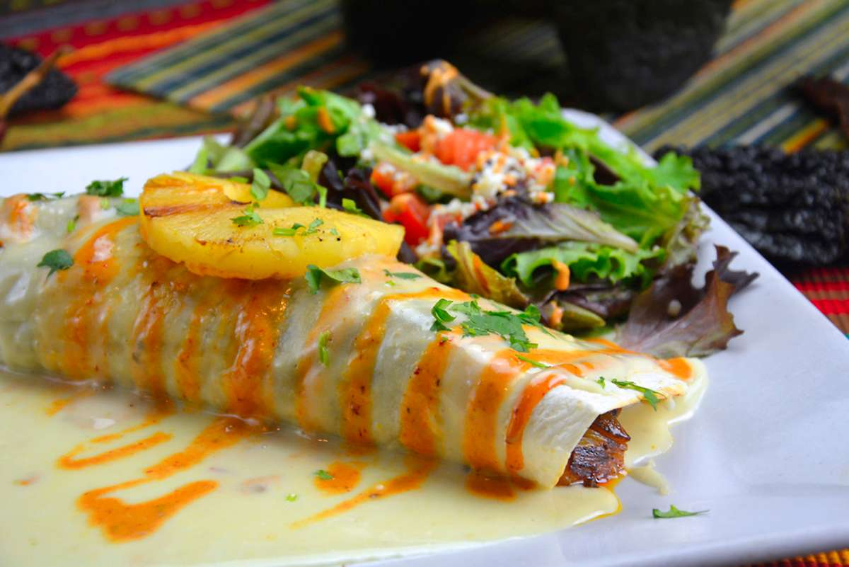 *Burrito a la Piña