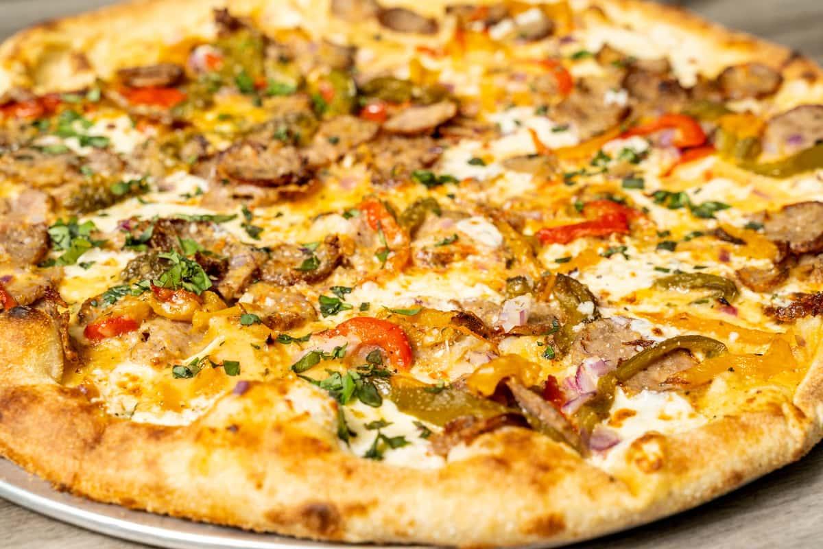 Smoking Godfella Pizza
