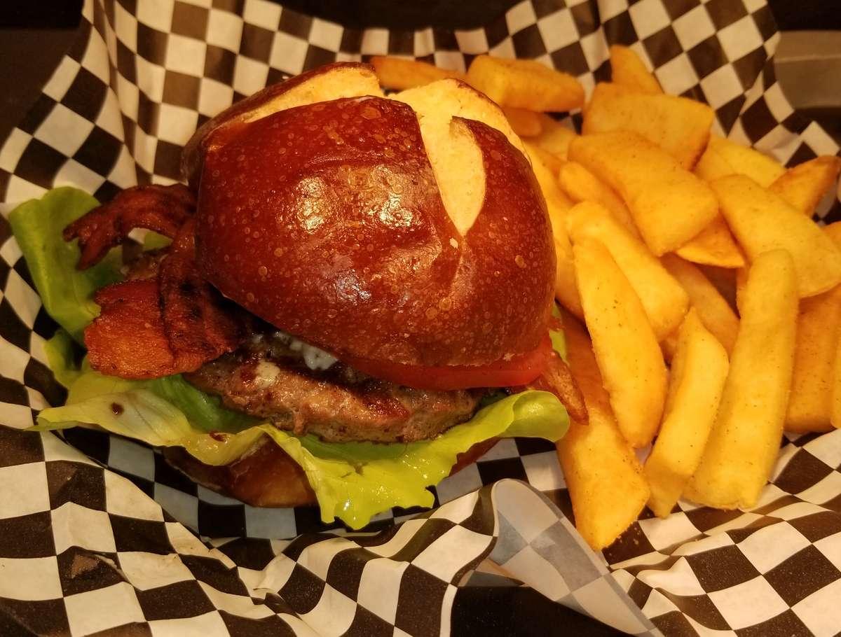 Channel Island Burger