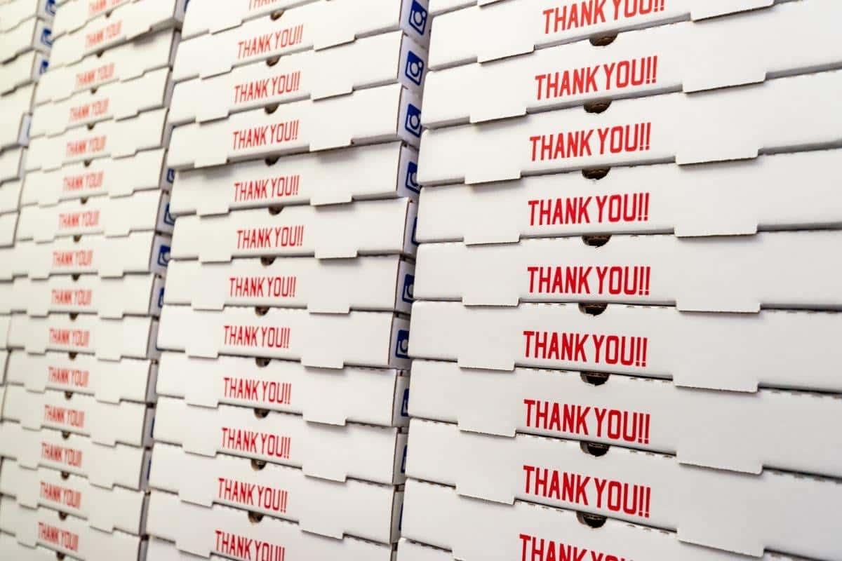 20 Large Pepperoni Pizzas