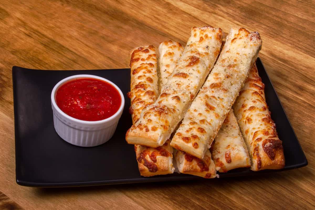 Double Cheesy Cheese Bread